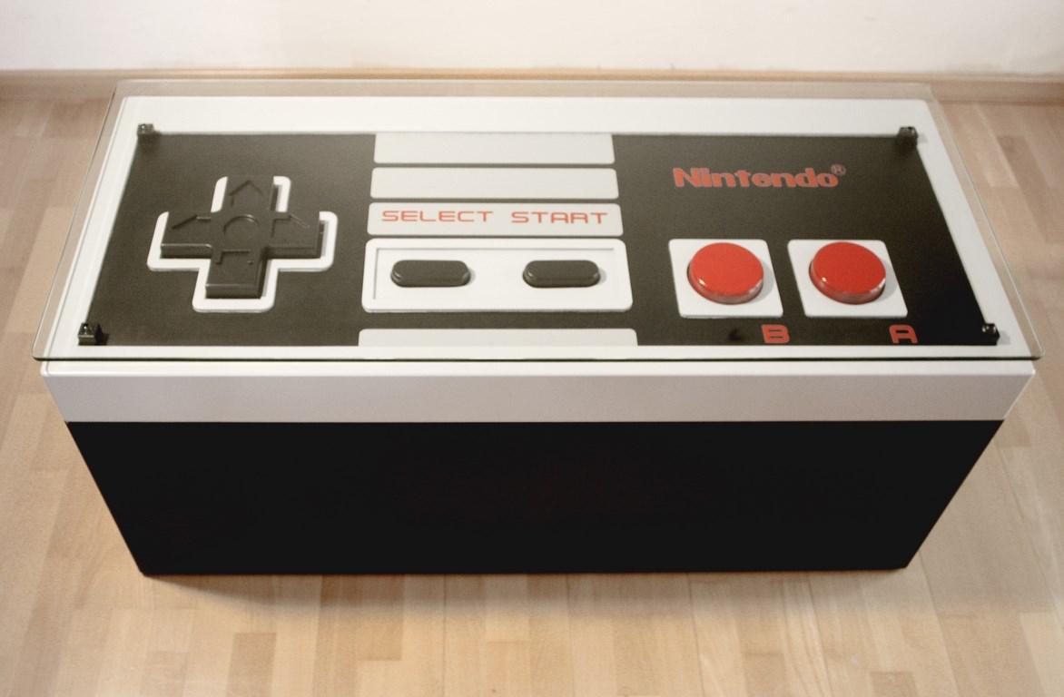 Mesa Baúl Mando Nintendo NES