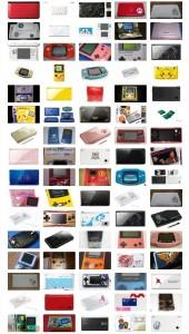 53 ediciones de coleccionista de las portátiles de Nintendo