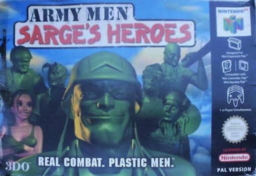 Army Men: Sarge's Heroes N64