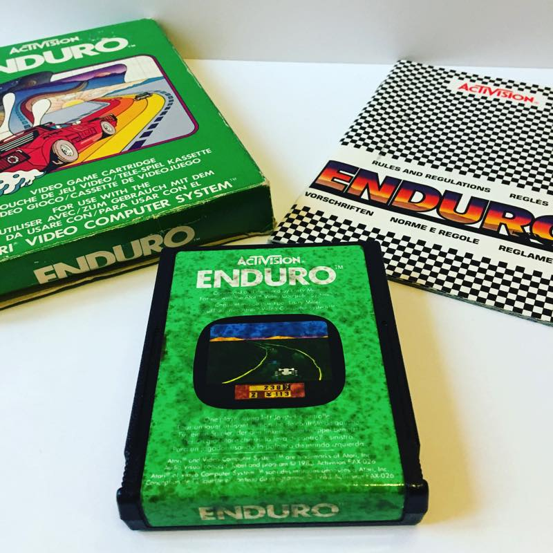 Enduro Atari 2600 Featured Image