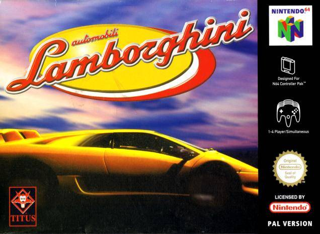 Automobili Lamborghini Nintendo 64