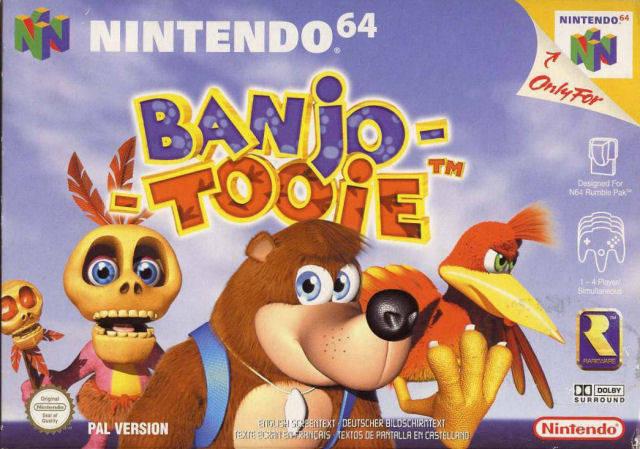Banjo-Tooie caratula