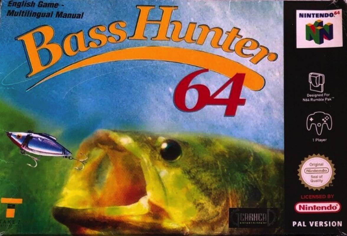Bass Hunter para Nintendo 64 - Caratula