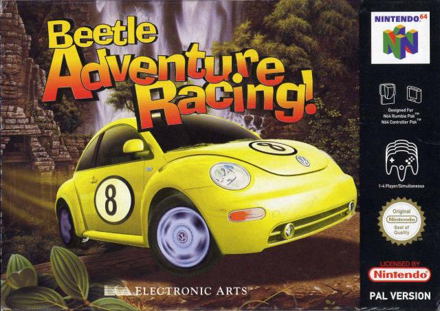 Beetle Adventure Racing portada Nintendo 64