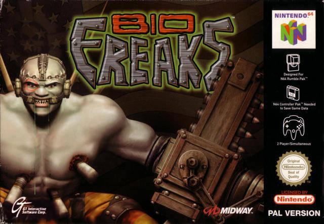 Bio F.R.E.A.K.S carátula de Nintendo 64