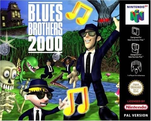 Blues Brothers 2000 carátula de Nintendo 64
