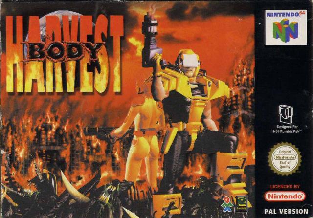 Body Harvest carátula de Nintendo 64