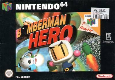 Bomberman Hero carátula de Nintendo 64