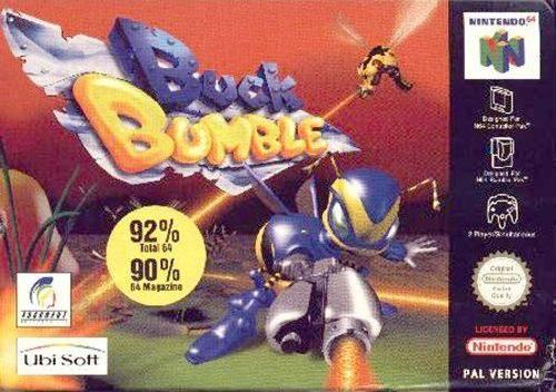 Buck Bumble carátula de Nintendo 64