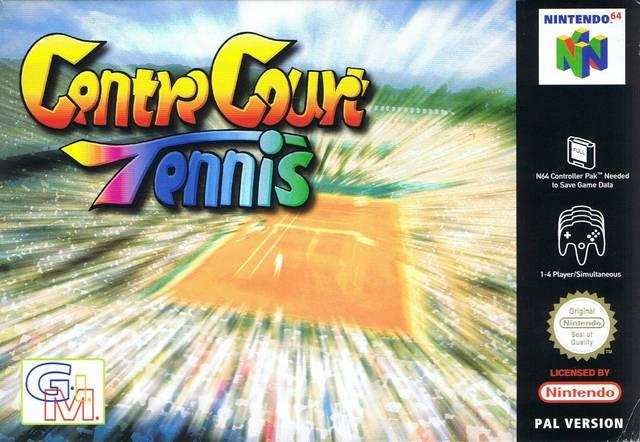 Centre Court Tennis carátula de Nintendo 64