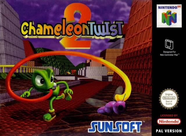 Chameleon Twist 2 carátula de Nintendo 64