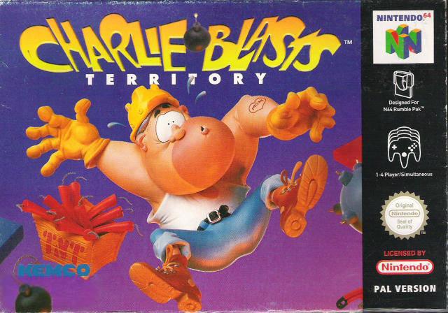 Charlie Blast's Territory carátula de Nintendo 64