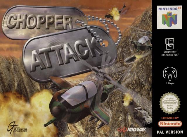 Chopper Attack carátula de Nintendo 64