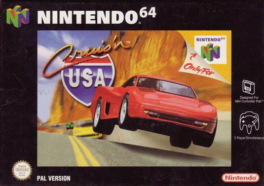 Cruis'n USA portada de Nintendo 64