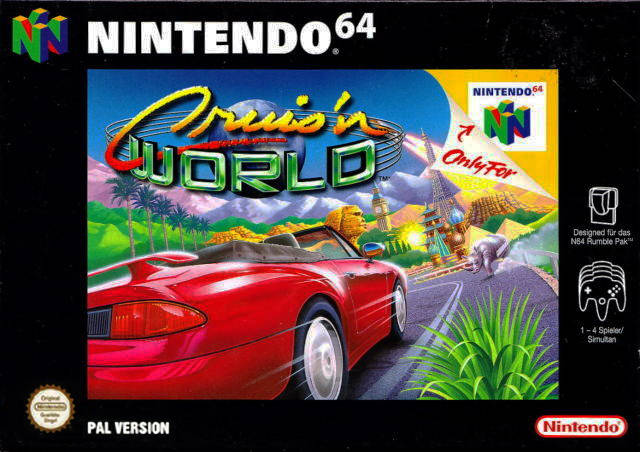 Cruis World carátula de Nintendo 64