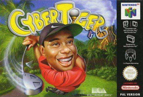 CyberTiger carátula de Nintendo 64