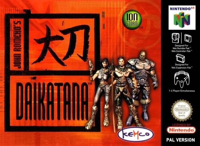 Daikatana carátula de Nintendo 64