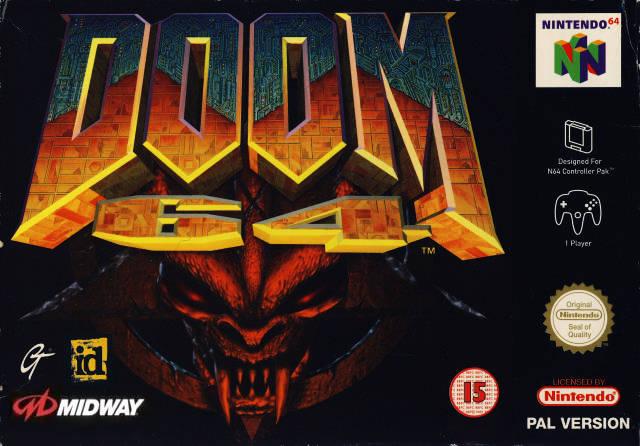 Doom 64 carátula de Nintendo 64