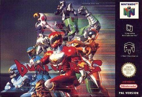 Dual Heroes carátula de Nintendo 64