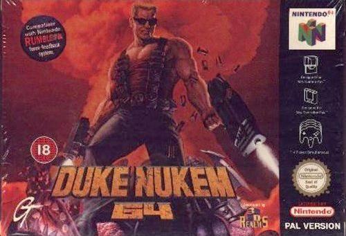 Duke Nukem 64 carátula de Nintendo 64