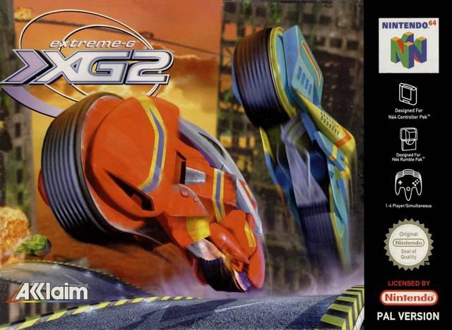 Extreme-XG2 carátula de Nintendo 64