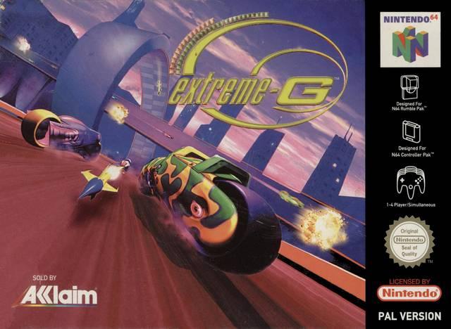 Extreme-G carátula de Nintendo 64
