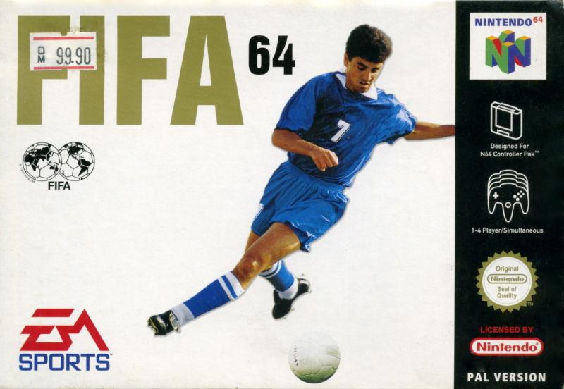 Fifa 64 carátula de Nintendo 64