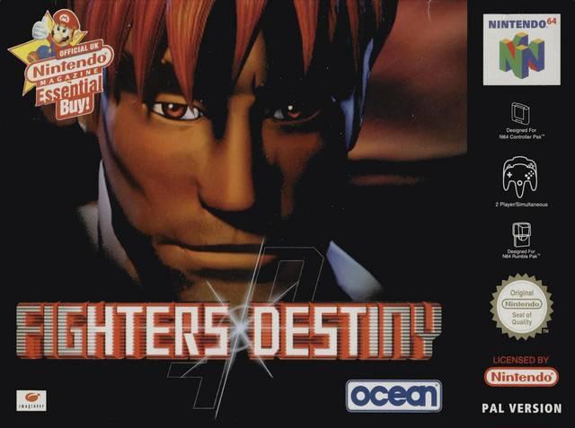 Fighters Destiny carátula de Nintendo 64