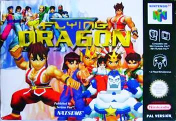 Flying Dragon carátula de Nintendo 64