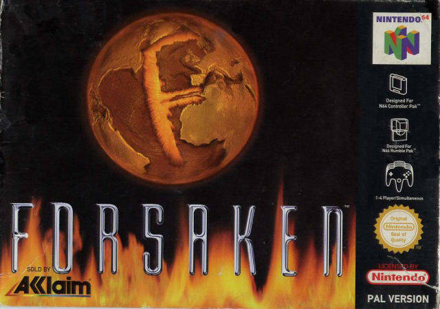 Forsaken carátula de Nintendo 64