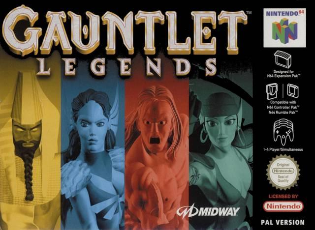Gauntlet Legends carátula de Nintendo 64