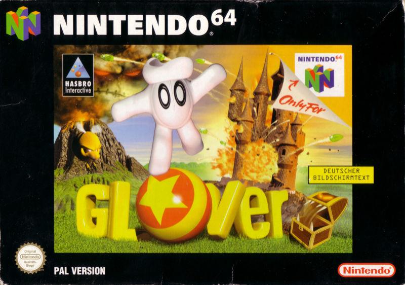 glover carátula de Nintendo 64