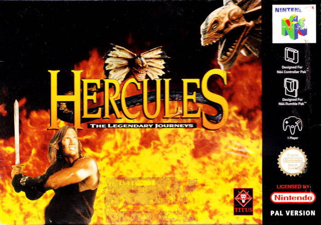Hercules carátula de Nintendo 64