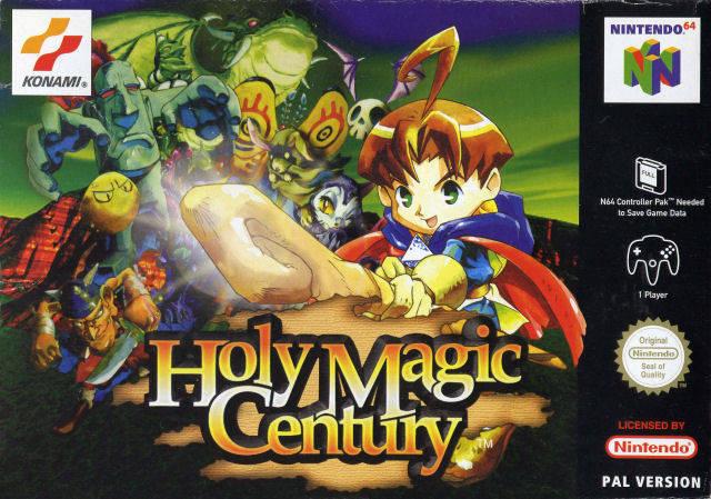 Holy Magic Century carátula de Nintendo 64