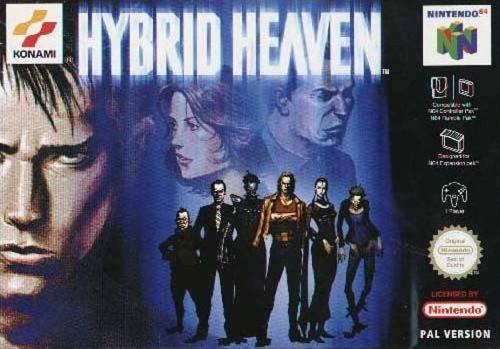Hybrid Heaven carátula de Nintendo 64