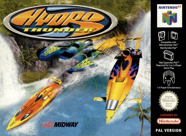 Hydro Thunder portada de Nintendo 64