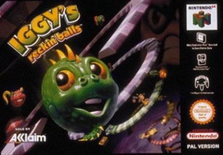 Iggy's Reckin' Balls portada de Nintendo 64