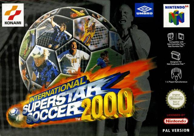 International Superstar Soccer 2000 portada de Nintendo 64