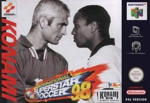 International Superstar Soccer '98 portada de Nintendo 64