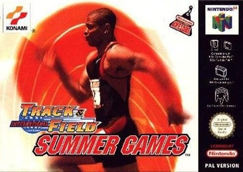 International Track & Field - Summer Games portada de Nintendo 64