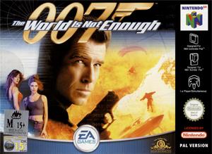 007 - The World Is Not Enough portada de Nintendo 64