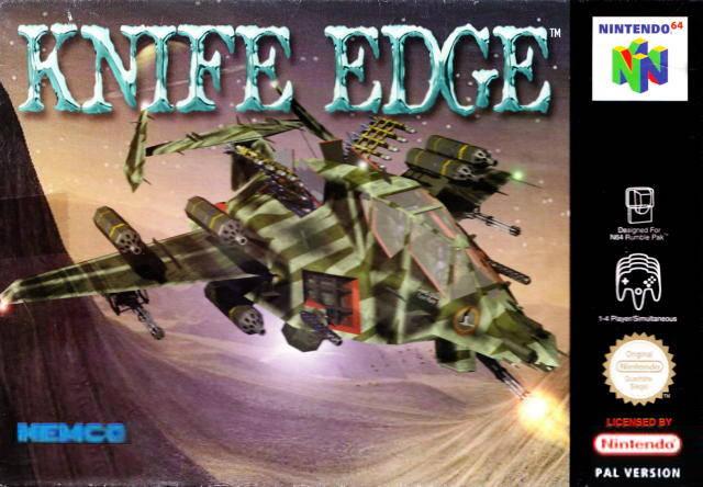 Knife Edge portada de Nintendo 64