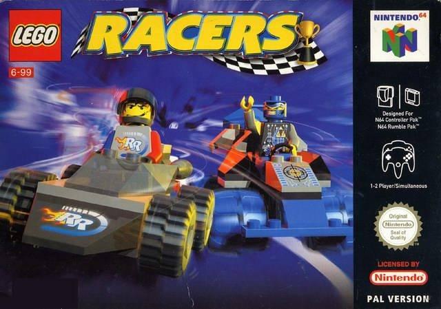 Lego Racers portada de Nintendo 64