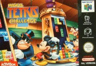 Magical Tetris Challenge portada de Nintendo 64