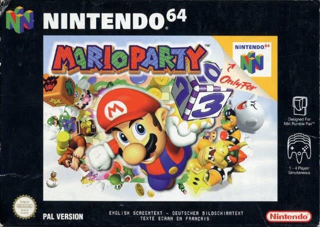 Mario Party portada de Nintendo 64