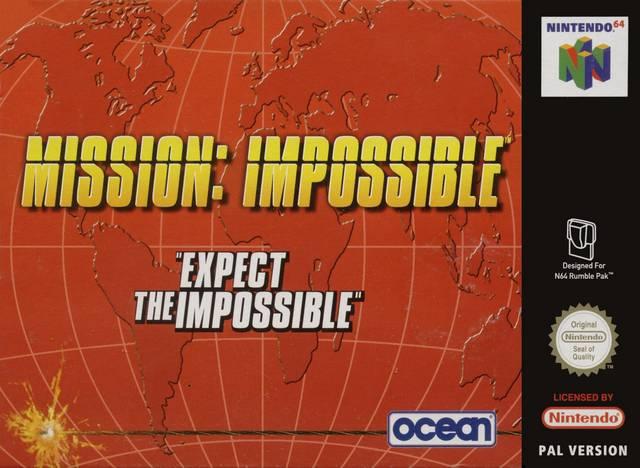 Mission - Impossible portada de Nintendo 64