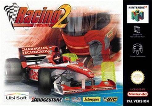 Monaco Grand Prix - Racing Simulation 2 portada de Nintendo 64