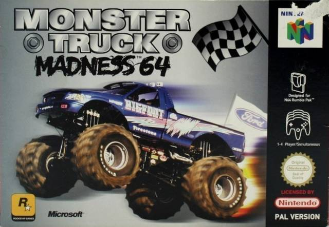 Monster Truck Madness 64 portada de Nintendo 64