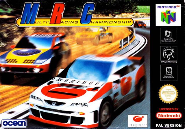 MRC - Multi-Racing Championship portada de Nintendo 64