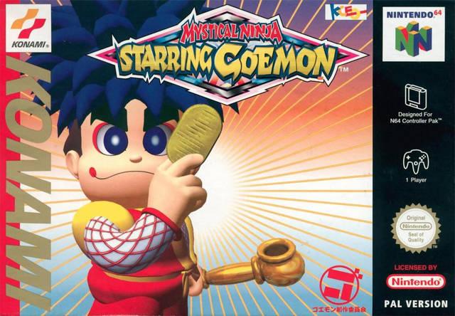 Mystical Ninja starring Goemon Nintendo 64